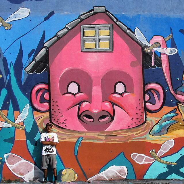@brunolifekvk #kovokcrew #muralismo #streetartrio #ruasdazn #arteurbana #pinturamural #pintura #lifekvk