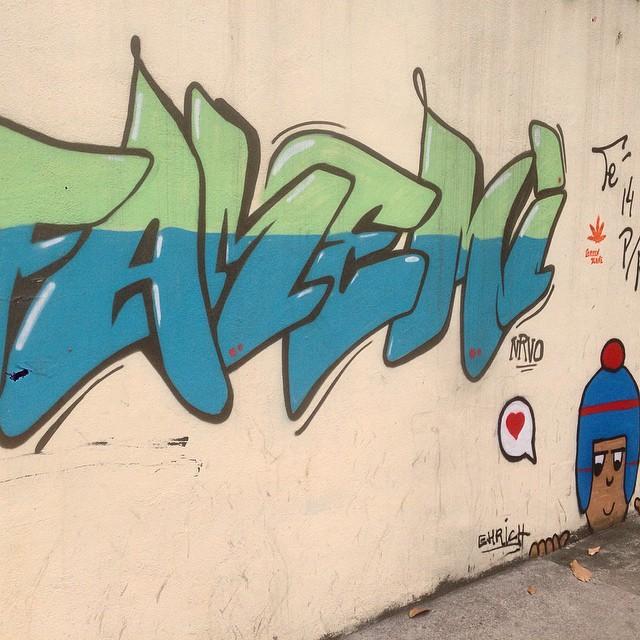 Art done by @betofame #nrvo #graffiti #streetart #streetartrio #urbanart #MuralsDaily #nofilter #tijukistan #tijuca #riodejaneiro #brazil
