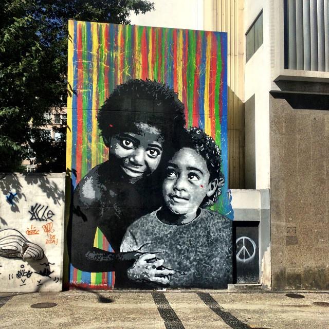 Arte de rua. Arte na rua. #StreetArtRio #StreetArt #riodejaneiro #rio450anos