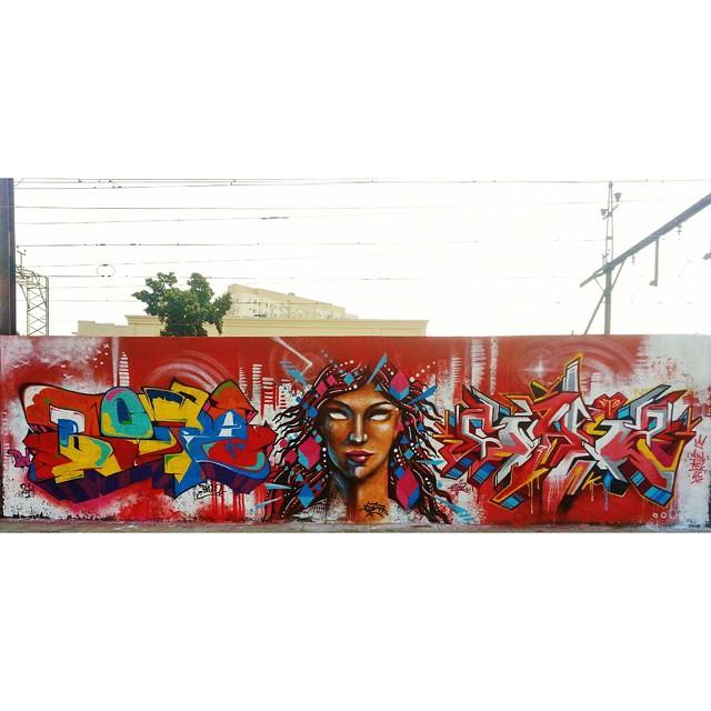 BLOPA + JET + CH2 #BLOPA #mtn #mtn94 #graffiti #graffitiart #graffitiartist #streetart #art #arte #arteurbana #graffitikings #letters #weloveletters #SprayArt #Writer #graffitiwriter #vscocam #print #wildstyle #wildstylegraffiti #graffitilove #graffitilovers #streetartrio #Writer #BlopaOne