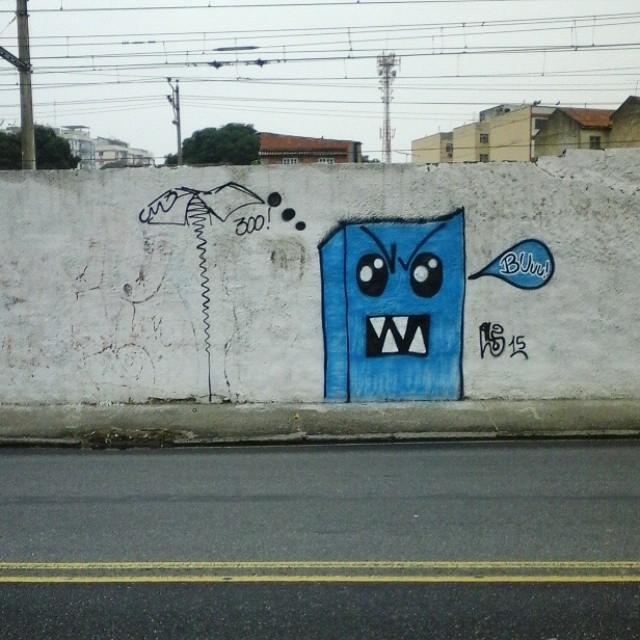 BUuu! #GraffitiBrasil #GraffitiRioDeJaneiro #Graffiti #StreetArt #StreetArtRio #ArteUrbana #Arte #Art #Street #Rua #Personagem #Persona #Cor #Cores #Pintar #Pinturas #RjGraffiti #rjvandal #Vandal #Vandalize #Madureira #ErreJota #RioDeJaneiro #Rio #ZonaNorte #TerraDeSamba #TerraDaMalandragem #Monstros #Azul #Buuu