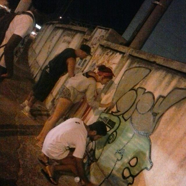 Deixando marcas pelo caminho... feat Bomb e Lory #graffiti #vandal #rjvandal #bomb #StreetArtRio #padremiguel