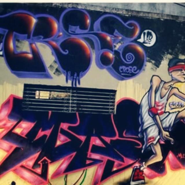 Mast / Crose (guadalupe) #eliasmast #crose #guadalupe #graffitiartist #graffitiwriter #streetartrio #streetart #vscocam #artederua #arteurbana #spraypaint