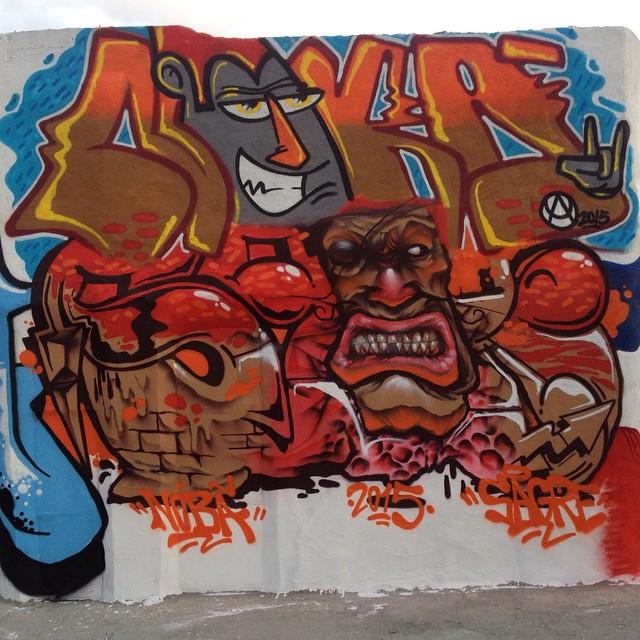 Nobã vs Zagri... A cena é essa...I ️ GRAFFITI ....Mutirão dos Trabalhadores. #ruasdazn #rjvandal #artistasurbanoscrew #streetartrio #mtnrio #graffiti #loveletters #letters #urbanart #artederua #steetwriters #writers #graffitiwriters #globalgraffiti #favelacarioca #paznascomunidades #tintanosmuros #estamosnasruas #spraypaint #oldschool #pandronobã #aucrew #crew #streetart #zonanorte #zonanorteetc #lazer #instagraffiti #galeriaaceuaberto #instagrafite #instagraffiti @brunozagri