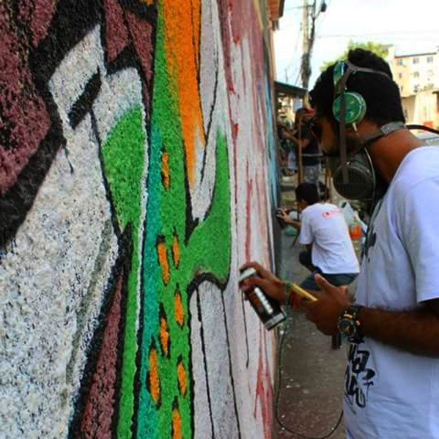 O processo é lento... #graffiti #leandroice #zo #padremiguel #art #StreetArtRio