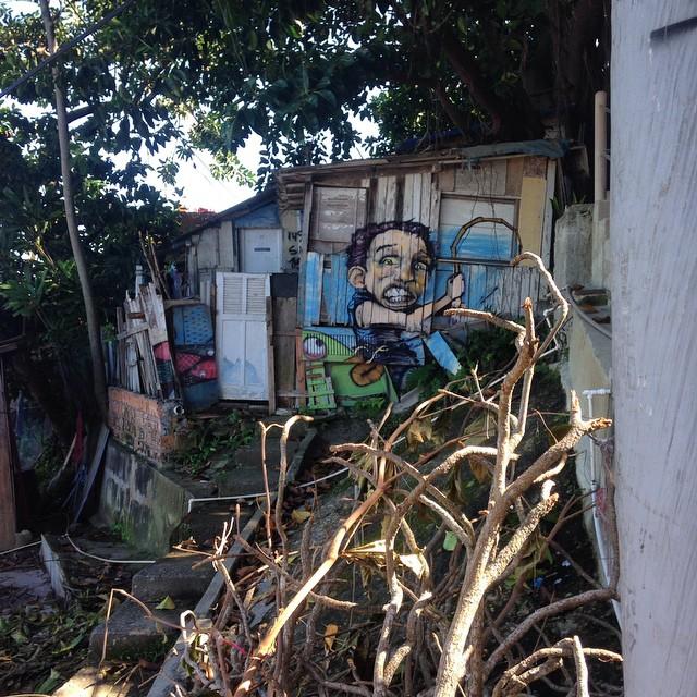 #graffiti #caranguejo #vietna #pavão #riodejaneiro #rj #brasil #brazil #streetart #streetartrio #artepublica #artecontemporanea #favela
