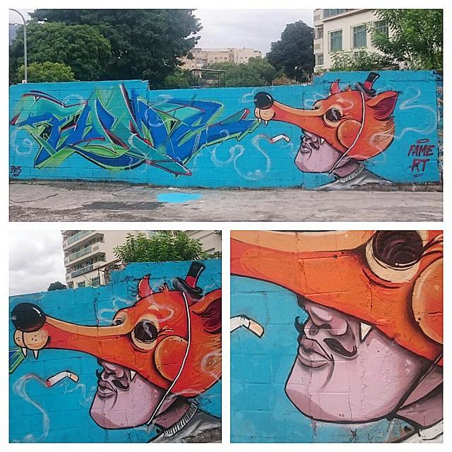 #graffiti #fame #streetartrio nooix!!@betofame