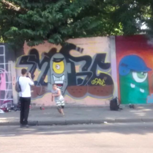 #graffiti #streeart #StreetArtRio #artederua #loveart #paint #fatcap #mtncolors #ruasdazn #art #loveletters #bobesponja #plancton #desenho #riodejaneiro #94 #rjvandal #rjbombing #black #life #instagraffiti #followforfollow #followme #follow #like4like