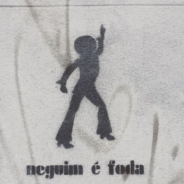 #littleblackisfuck #stencilart #streetart #stencil #streetartrio