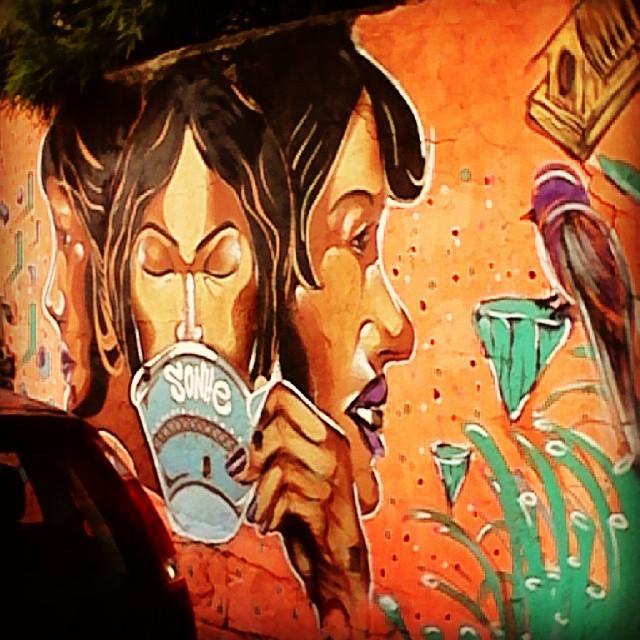 #sonhe #sonhos #streetartrio #santateresa #rj #arte #amor #graffiti #trabalhador