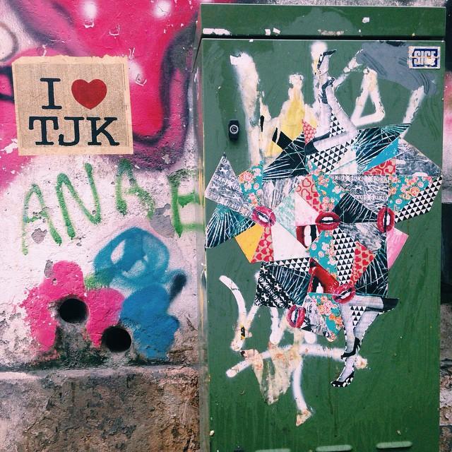 #streetartrio #streetart #lambelambe #wheatpaste #cutandpaste #surface #printandpattern #collage #colagem #illustration #ilustração #Art #Arte #vsco #vscocam #tijuca #tjk #i️tjk