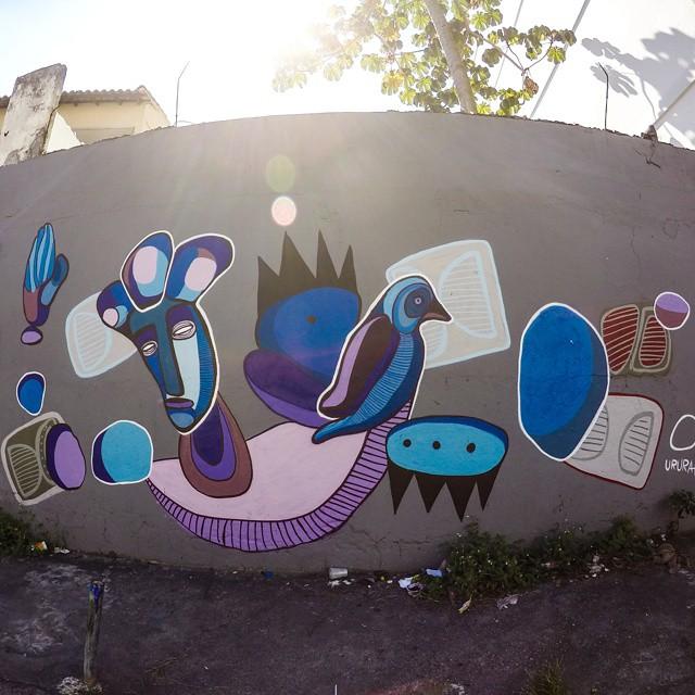 Art @ururah #graffite #artrua #instagraffiti #galeria #artgallery #streetart #streetartrio #streetgallery #arteurbana #ururah #graffiti #spray #rj #errejota #streetartrio #galeriaaceuaberto