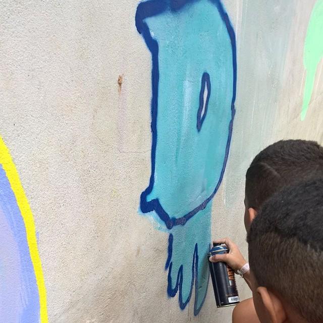 Digo mandado nos bomb #coletivoilovemp #cursodeiniciaçãoaarteurbana #streetartrio #ilovemp #ilovegraffiti #Throuwup #bomb