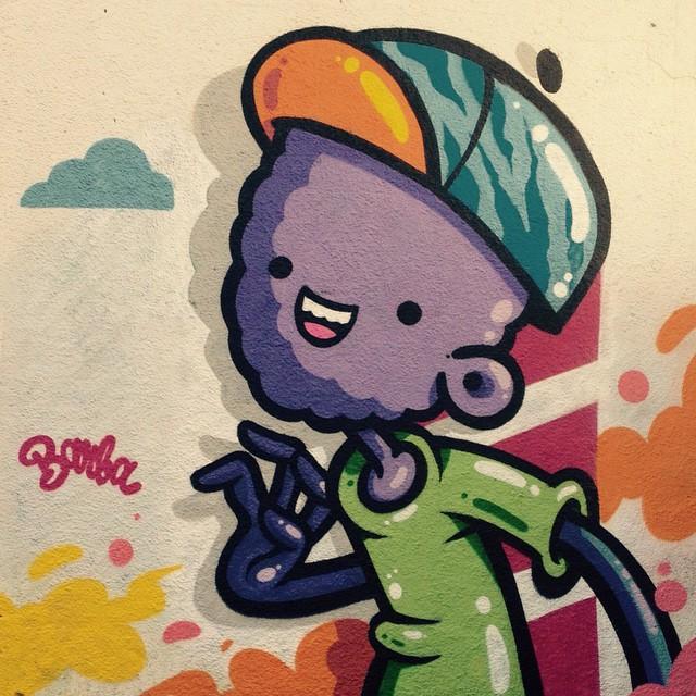Solo! #barba #graffiti #zoteam #ruasdazn #streetartrio #cores #monstros