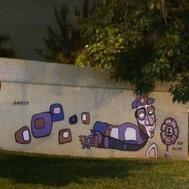 #streetartrio #ururah #florolho #wakingteam #grafiti #grafite #streetart