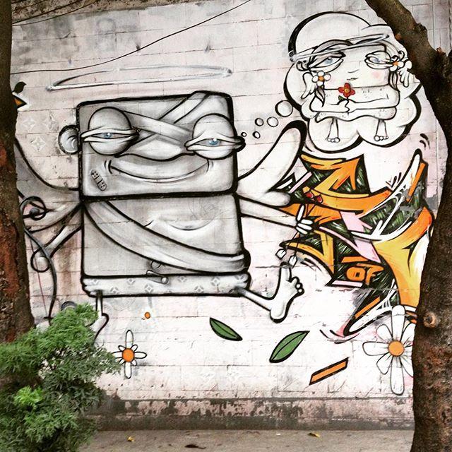 Amazing characters found on the walls of Rio de Janeiro by an unknown artist! #love #sambadograffiti #riograffiti #graffiti #grafite #graf #streetart #streetartrio #streetphoto #streetarteverywhere #streetartphotography #spray #spraypaint #urbanwall #urbanart #wallart #riodejaneiro #brasil #rsa_graffiti #DSB_graff #braznu #carioca #tv_streetart #riodejaneirocity #tv_sa_simplicity_graff #streetartofficial