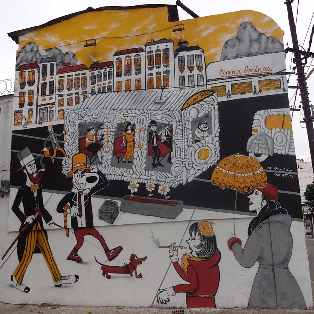 Graffiti wall by @cazesawaya , @fabiobirita and #efixis . #cazesawaya #fabiobirita #biritaillustration #streetartrio #graffitiart #streetart #artederua #urbanart #arteurbana