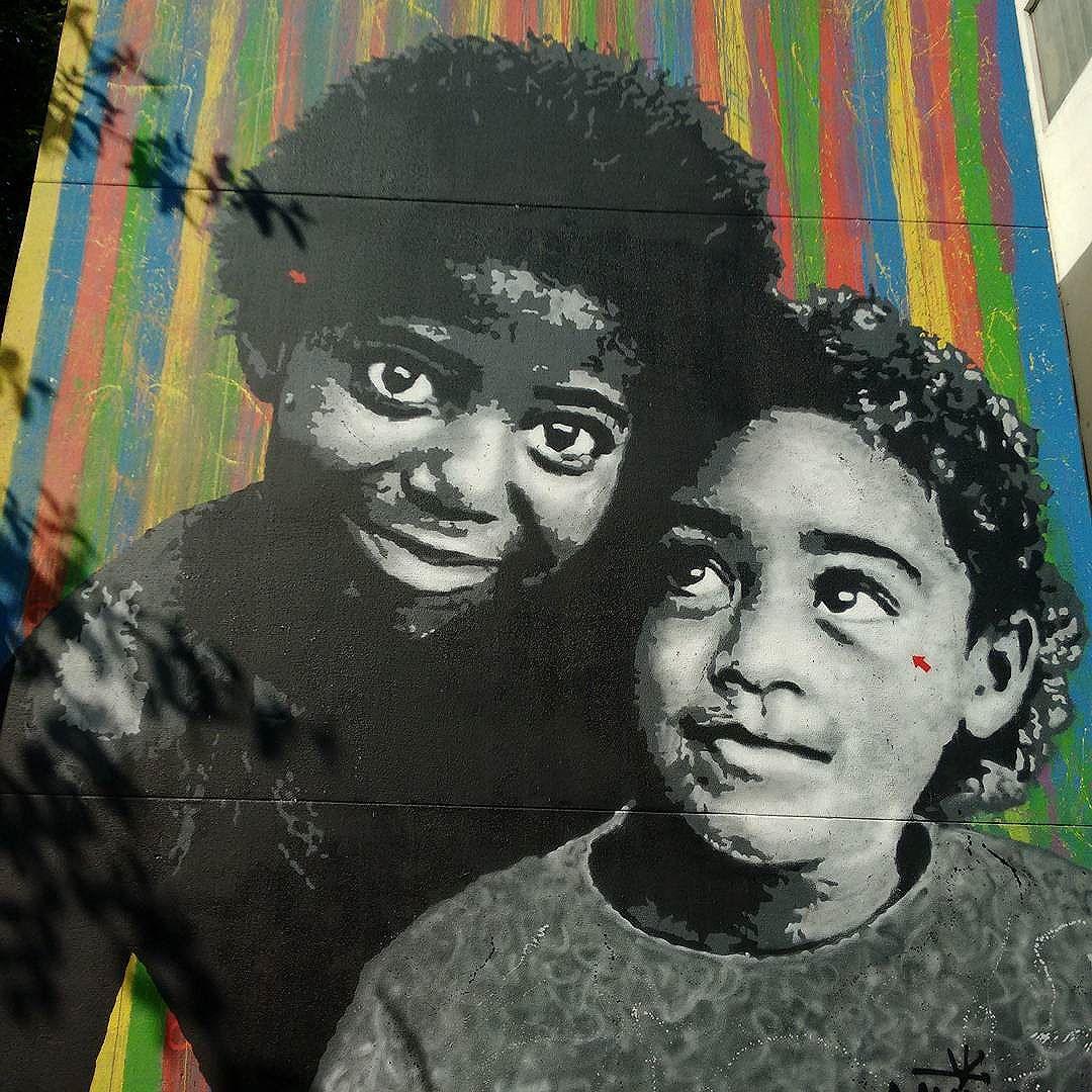Street art in downtown Rio #rio #riodejaneiro #brazil #brasilemfotos #brasil #streetartrio #streetart #urbanart