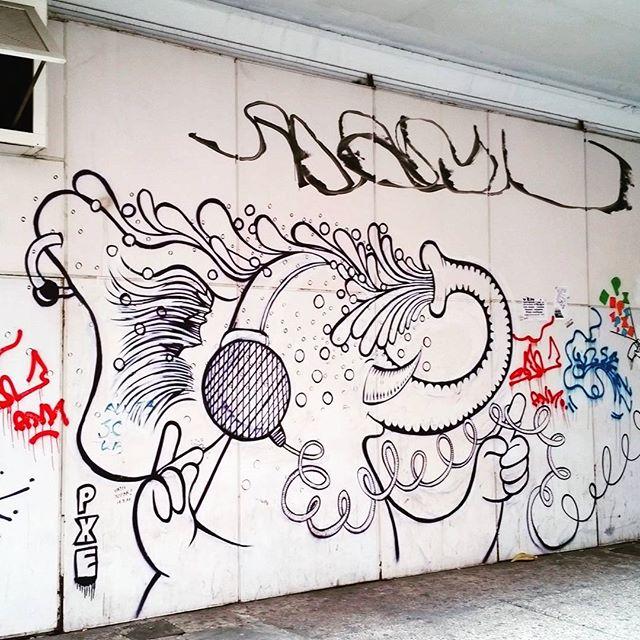 #streetart #streetartrio #grafite #graffiti #grafitti #pxe #copacabana #riodejaneiro