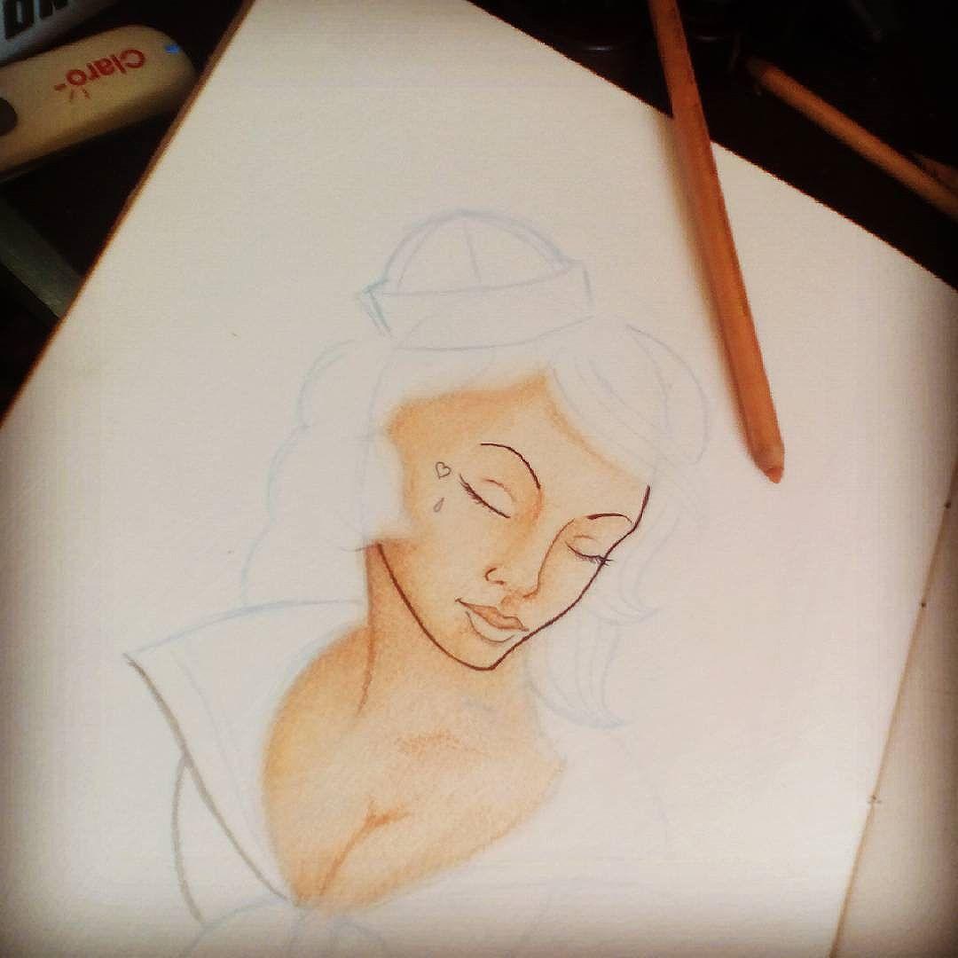 """Té ki ta rendendo!"" Kkk Testando lápis pastel! Ainda estudo com cores! #Felipeblunt #streetart  #streetartrio #niterói  #estudo  #softpastel #pastelseco #go  #go #go"