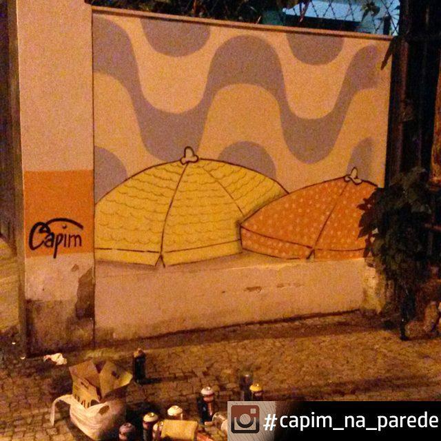 Finish... 24h pra tinta branca cobrir  #capimnaparede #CapimLimao #streetartnews #streetartrio #rjgraffiti #graffitirio #graffiti_clicks #grafitecarioca #grafite #rj #oticavisaocentral #botafogo #artrio #murosdacidade #graffitiwall #mtn #94 #instagrafite #graffitirj #graffiticarioca #misturaurbana #spraypaint