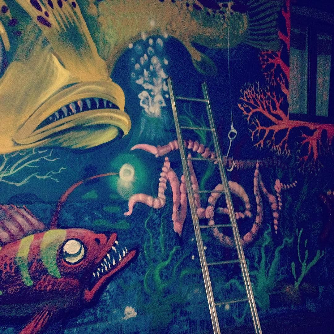 #underthesea #graffiti #meton #inprogress