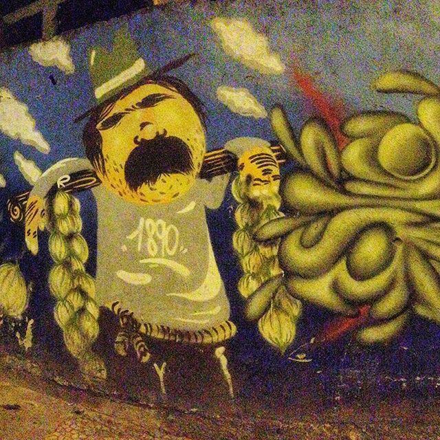 Art done by @cazesawaya and #efixis #graffiti #graffporn #streetart #streetartrio #streetartglobe #urbanart #spraydaily #MuralsDaily #nofilter #copacabana #riodejaneiro #brazil