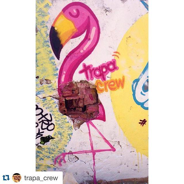 #Repost @trapa_crew with @repostapp. ・・・ Rafa! Interferência no buraco do muro.