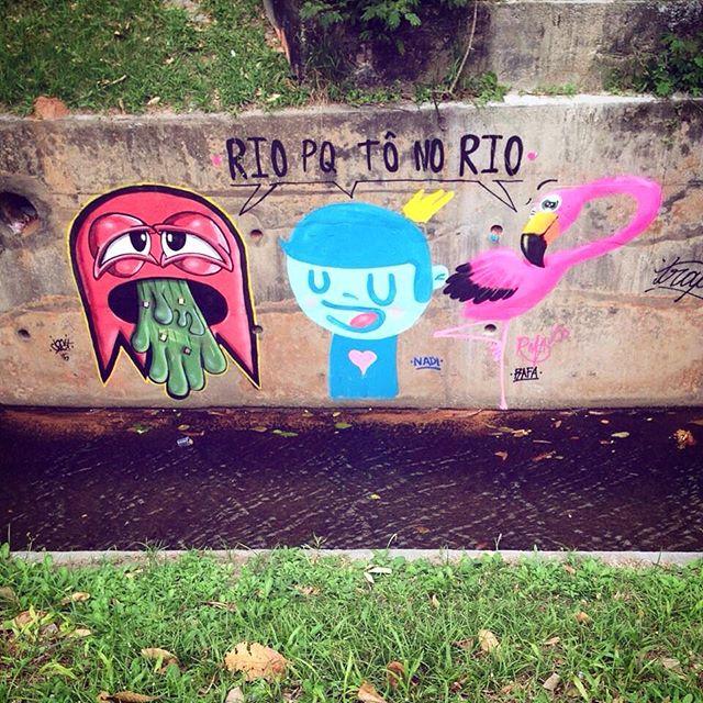 """""""Rio porque tô no Rio"""" Cast•Nadi•Rafa Gávea"""