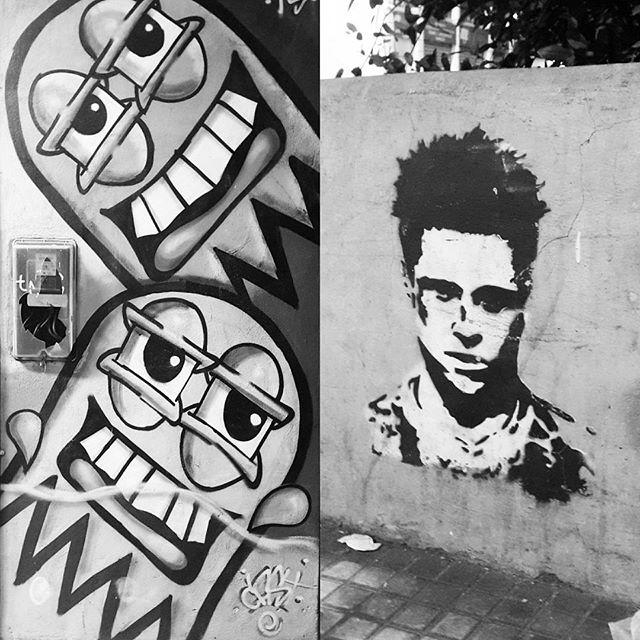 #streetartrio #streetart #vsco
