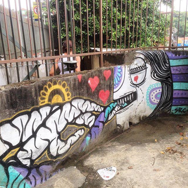 Art done by @mz_qpasa and @searc_src #graffiti #grafporn #streetart #streetartrio #streetartglobe #urbanart #spraydaily #muralsdaily #nofilter #santateresa #riodejaneiro #brazil