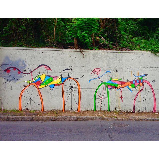 Bicicletinhas, Santa Teresa, Rio.
