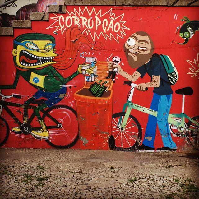 Corrupcao! #streetartrio #streetart #streetartglobe