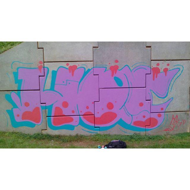 Hoje... #graffiti #streetartrio #street #hos #rj