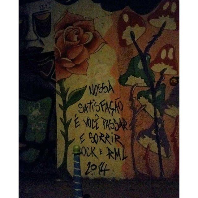 Missão cumprida. #streetartrio