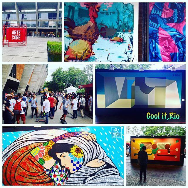 Resumo do Arte Core 2015,no Museu de Arte Moderna-MAM, Aterro do Flamengo,Rio de Janeiro. Grande evento! Ano que vem tem mais! *** Resume of Arte Core 2015,Modern Art Museum-MAM,Aterro do Flamengo,Rio de Janeiro. A great event of skate, urban and street art! See you next year! *** #artederua #arteruario #mam #aterro #streetart #streetarteverywhere #streetartrio #artecore #artecore2015 #arteurbana #artrio #riomais #deboasnorio #rio4gringos #dolemeaopontal #oquefazernorio #orionaoesopraia #riodejaneirotips #brazilgram_ #porainorio #everydayriodejaneiro #everydaybrasil #grafitti #rionagema #grafite #mountaindew #skaterio #ment #marceloeco #tarm1