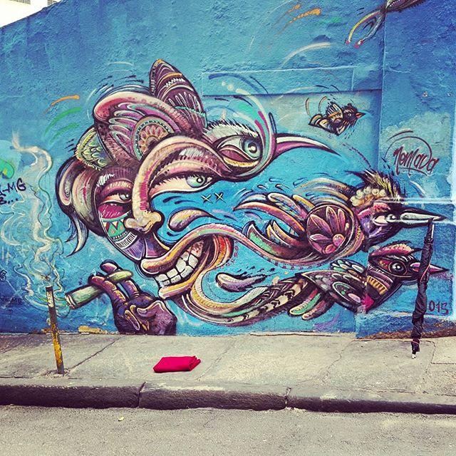 Woah... What are you smoking man...? #rio #eatrio #streetart #streetartrio #lapa #smoking #birds #angrybirds