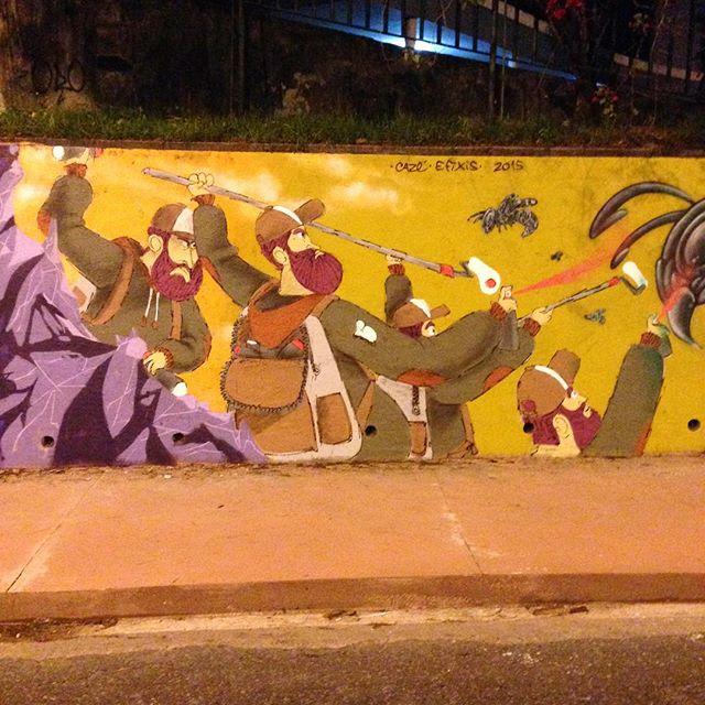 #barbudinhoo #streetart #streetartrio #streetartrio #laranjeiras #botafogo #cassiaeler #streetartphoto