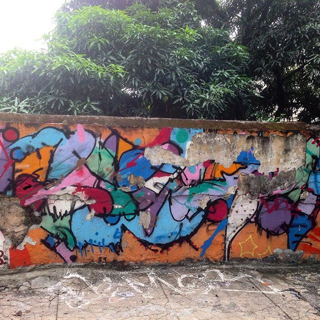 #graffiti #graffporn #streetart #streetartrio #streetartglobe #urbanart #spraydaily #muralsdaily #nofilter #santateresa #riodejaneiro #brazil