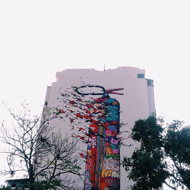 [pra colorir dias cinzas] #art #streetart #urbanart #streetartrio