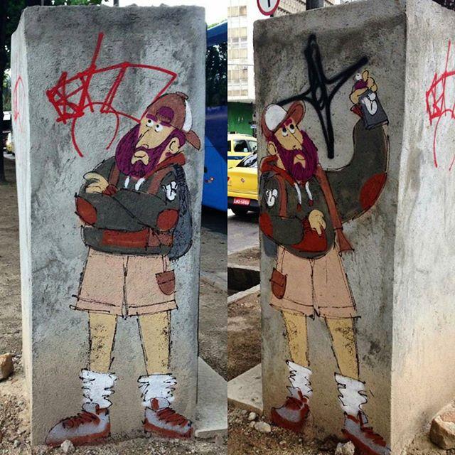 @cazesawaya нарисовал в Рио-де-Жанейро. #cazesawaya #streetartrio #streetartrj #graffitirio #graffitirj #streetartbr #igersbrazil #ig_brazil #graffitibrazil #граффити_tschelovek #streetart #urbanart #graffiti #mural #стритарт #граффити #wallart #graffitiart #artederua #grafite #arteurbana #wall #graffiticulture #graffitiwall #streetart_daily #streetarteverywhere