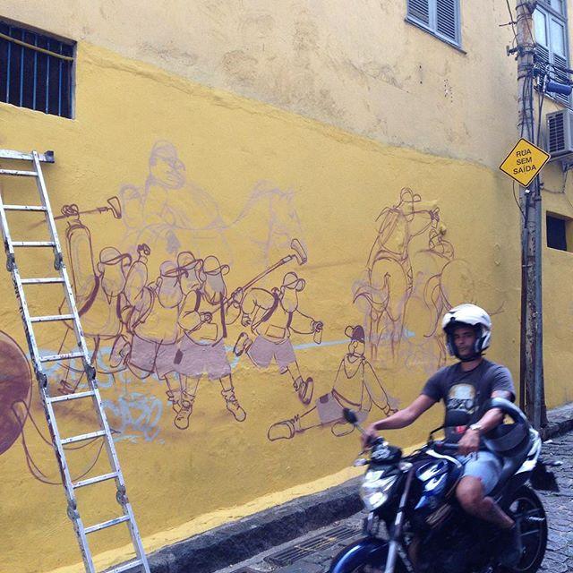 À invasão!!! #streetart #streetartrio