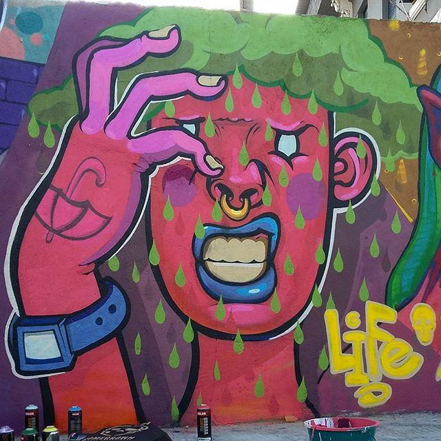 As vezes incomoda!  #kovokcrew #streetartrio #graffiti #artrua #arteurbana #alatatabarata