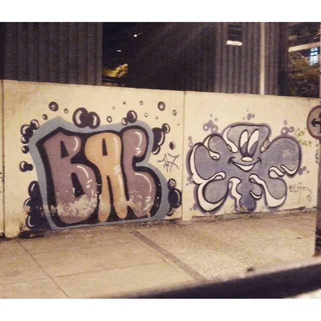 Bac x Bla #graffiti #street #streetartrio #streetart #arteurbana #vandal #rj