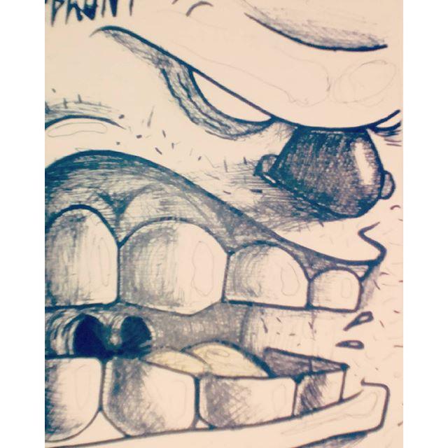 Boa noiteee! #felupeblunt #streetart #streetartrio #niterói #niteroigram #boanoiteeee