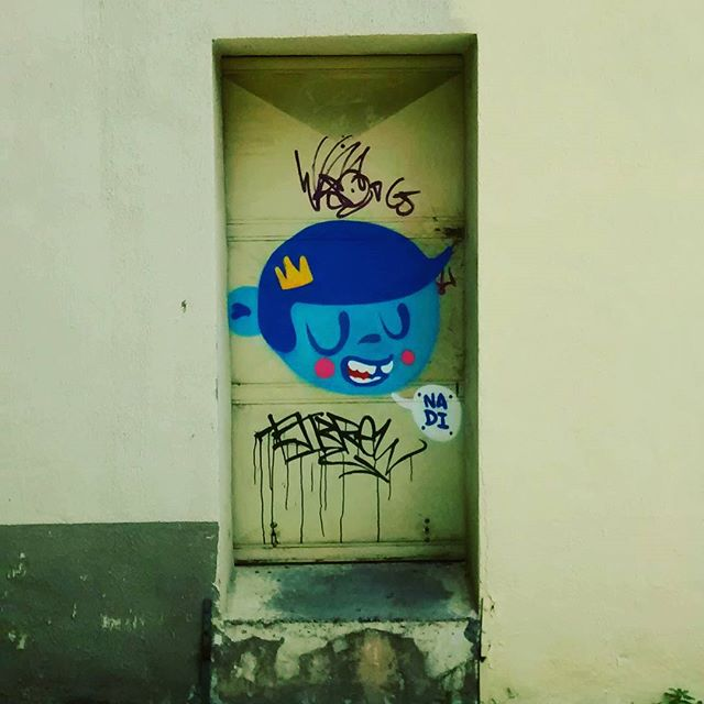 Botando a cara! #streetartrio #streetart #graffiti #instagraffiti #nadigraffiti #trapacrew #urbanart #tijuca #maracanã #021rj #carioca