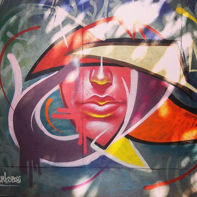 By @carlosbobi . Rio de Janeiro. 18/09/2015 | vandalogy #StreetArtRio #StreetArt #graffiti #riodejaneiro #CarlosBobi