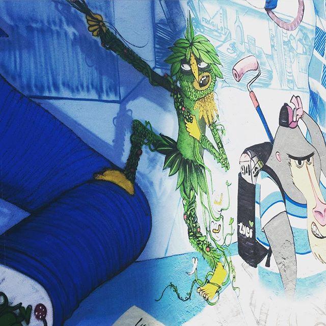 Duende? #graffrio #graffiti #grafite #streetartrio #riodejaneiro #murosdorio #artelivre #arteurbanabr @cazesawaya