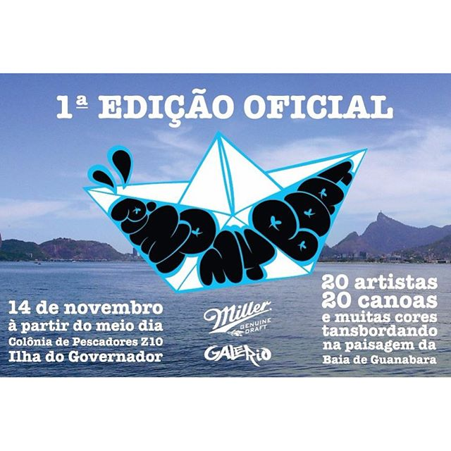 É amanhã a partir de 12h o #pimpmyboat obrigado @_rafamon_ pelo convite! #cazesawaya #barbudinhoo #andarilho #blowfish #streetartrio