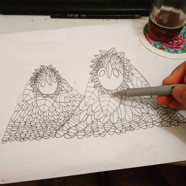 E lá vamos nós, ao nosso parto #criar #sketchbook #drawing #ilustracao #arteurbana #streetartrio #streetart #nanquim #papel #artistacarioca #arteurbana